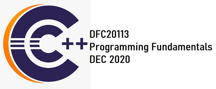 DFC20113 PROGRAMMING FUNDAMENTALS