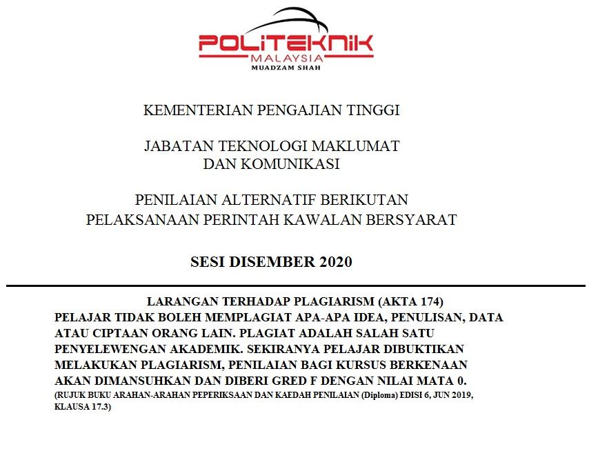 PALT DFT4024 DEC 2020